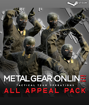 MGS V TPP MGO DLC ALL APPEAL PACK