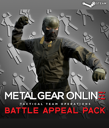 MGS V TPP MGO DLC BATTLE APPEAL PACK