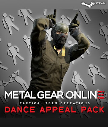 MGS V TPP MGO DLC DANCE APPEAL PACK