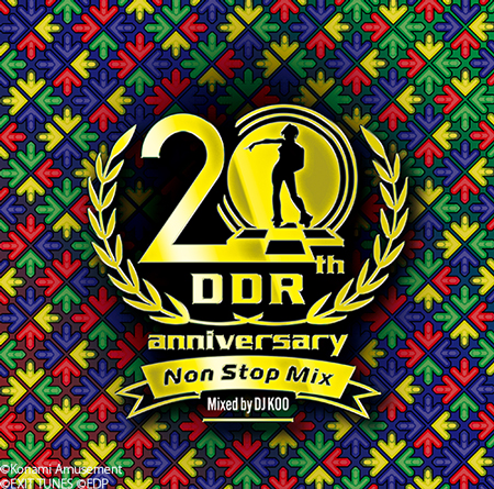 DanceDanceRevolution 20th Anniversary Non Stop Mix Mixed by DJ KOO(CD)
