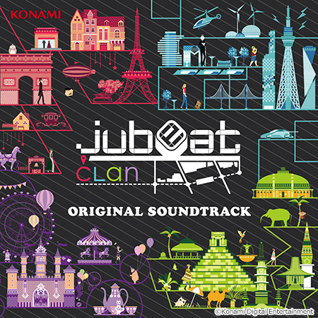 jubeat clan ORIGINAL SOUNDTRACK(CD)
