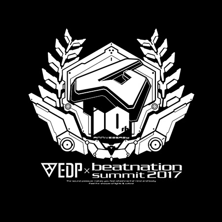 EDP×beatnation summit 2017-beatnation 10th Anniversary- Blu-ray