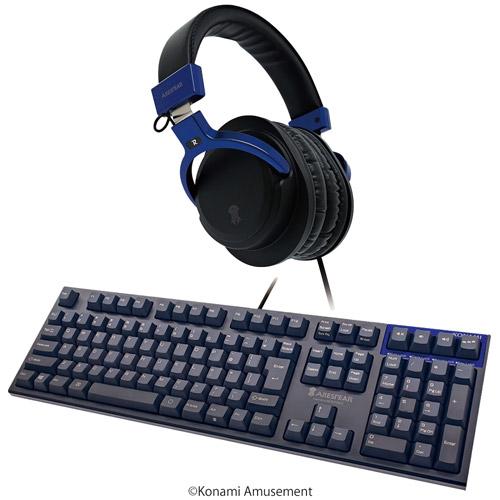 ゲーミングヘッドホン&ゲーミングキーボード(フルキー) セット / ARESPEAR H100&ARESPEAR K100F