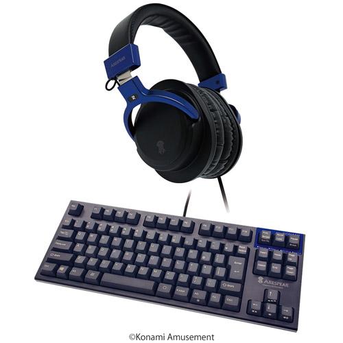ゲーミングヘッドホン&ゲーミングキーボード(テンキーレス) セット / ARESPEAR H100&ARESPEAR K100L