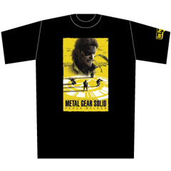 METAL GEAR SOLID PEACE WALKER ワールドツアーTシャツ BLACK  L