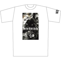 METAL GEAR SOLID PEACE WALKER ワールドツアーTシャツ WHITE M