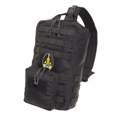 METAL GEAR 25th TACTICAL BAG BLACK