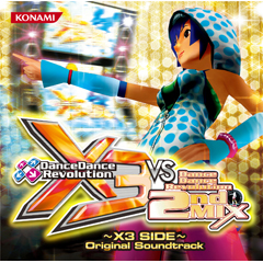 DanceDanceRevolution X3 VS 2ndMIX~X3 SIDE~ Original Soundtrack(CD)