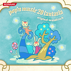【コナミスタイル限定】pop'n music 20 fantasia original soundtrack(CD)