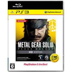 METAL GEAR SOLID PEACE WALKER HD EDITION PlayStation®3 the Best(PS3)