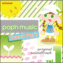 【通常盤】pop'n music Sunny Park original soundtrack vol.1(CD)