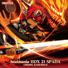 beatmania IIDX 21 SPADA ORIGINAL SOUNDTRACK(CD)