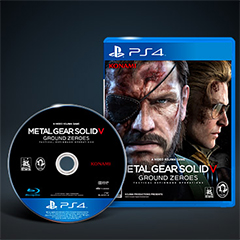 METAL GEAR SOLID V: GROUND ZEROES(PS4)