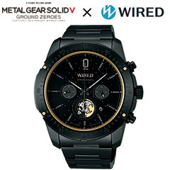 WIRED × METAL GEAR SOLID V: GROUND ZEROES LIMITED EDITION