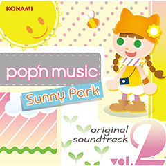 pop'n music Sunny Park original soundtrack vol.2(CD)