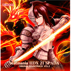 beatmania IIDX 21 SPADA ORIGINAL SOUNDTRACK vol.2(CD)
