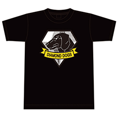 METAL GEAR SOLID V Tシャツ(S)黒DD