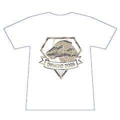 METAL GEAR SOLID V DD (Diamond Dogs) Tシャツ M(白)
