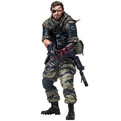 mensHdge technical statue No.16 METAL GEAR SOLID V:THE PHANTOM PAIN ヴェノム・スネーク