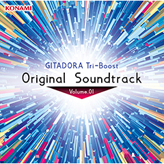【通常盤】GITADORA Tri-Boost Original Soundtrack Volume.01(CD+DVD)