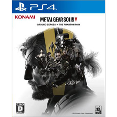 METAL GEAR SOLID V:  GROUND ZEROES + THE PHANTOM PAIN(PS4)