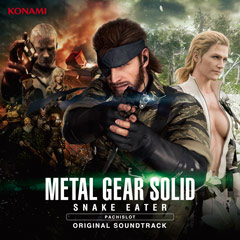 PACHISLOT METAL GEAR SOLID SNAKE EATER ORIGINAL SOUNDTRACK(CD)